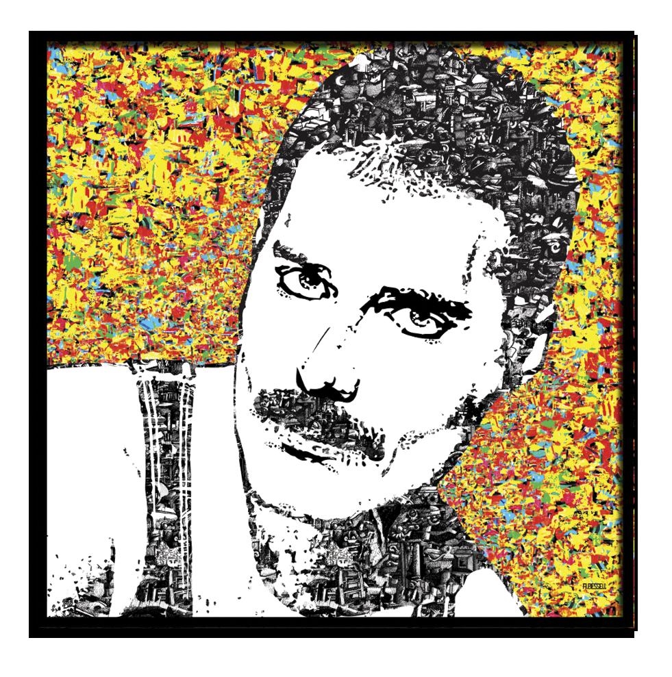 Freddie Mercury - André Bessell